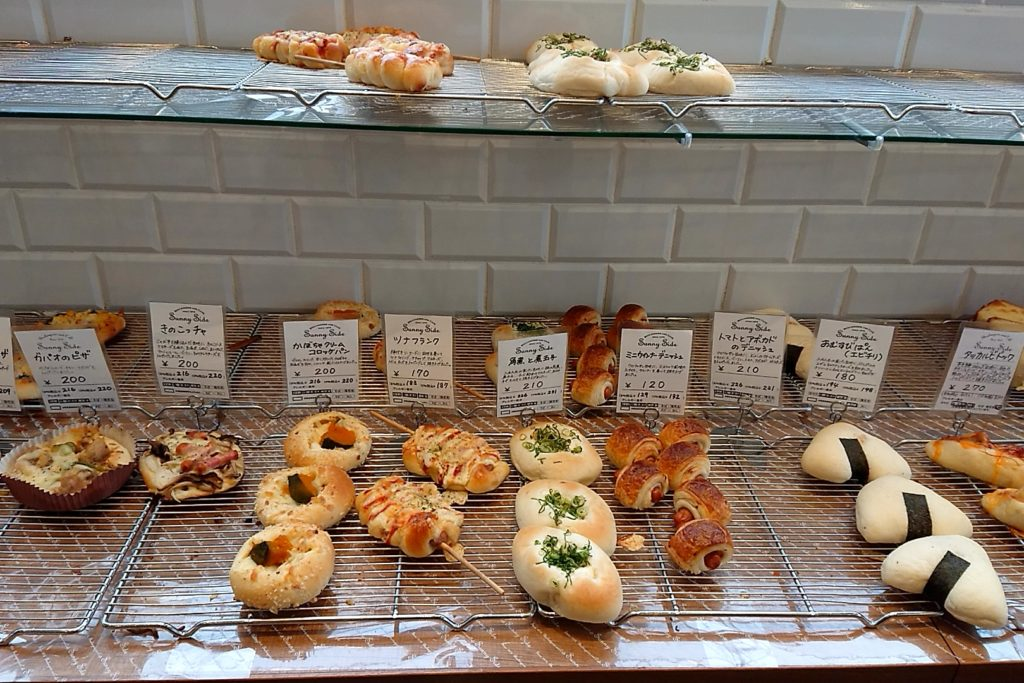サニーサイド高槻のパン