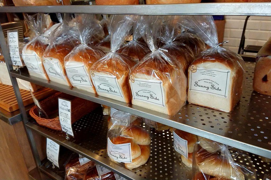 サニーサイド高槻の食パン