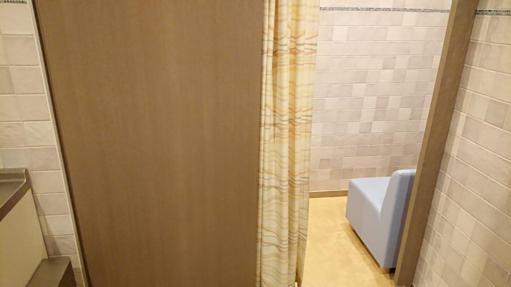 京都水族館の授乳室