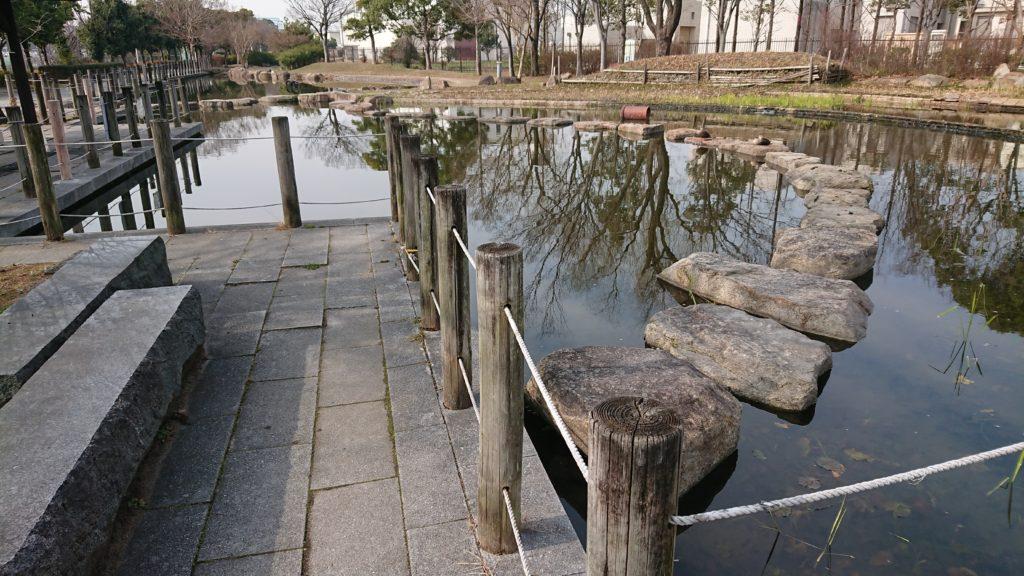 高槻せせらぎ緑地公園 カモ池