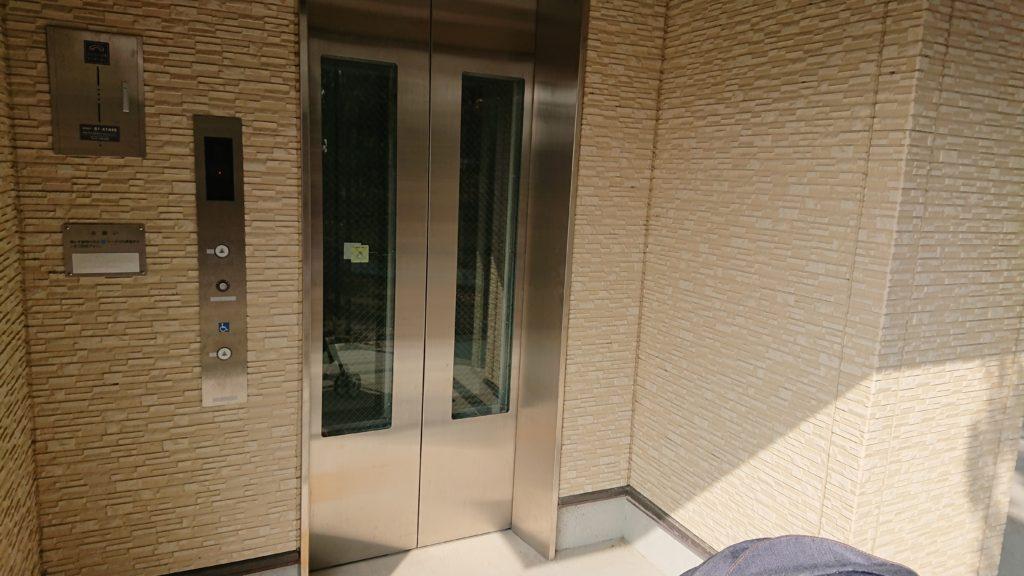 高槻スカイランドのエレベーター