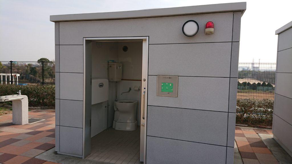 高槻スカイランドの多機能トイレ