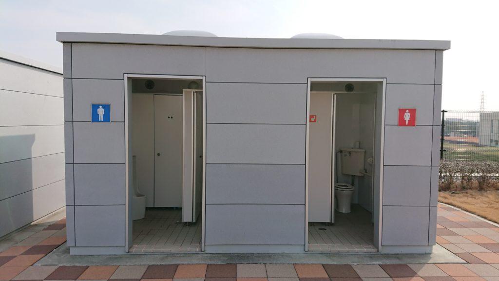 高槻スカイランドのトイレ