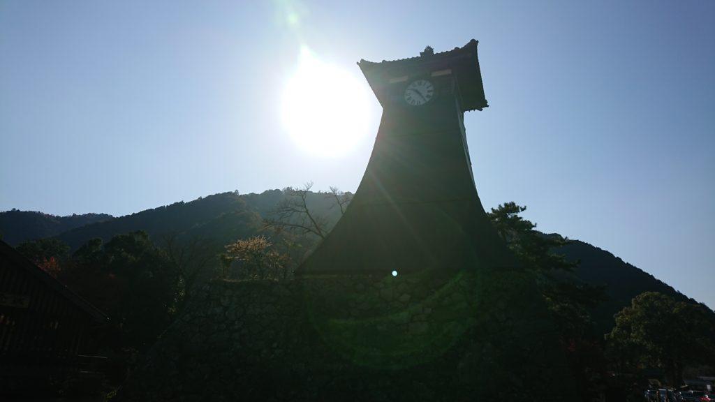 出石の時計台