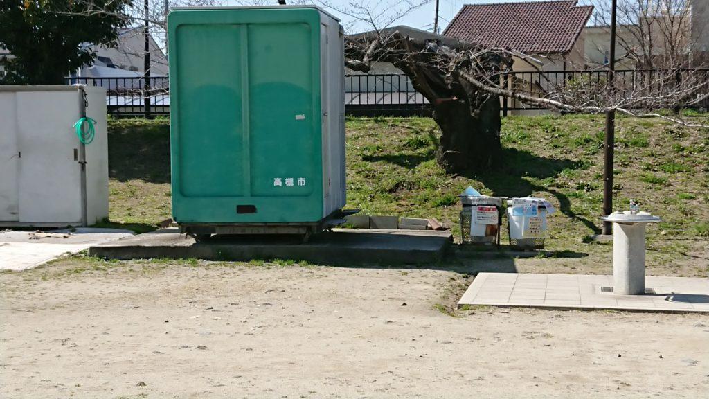 桜堤公園のトイレ