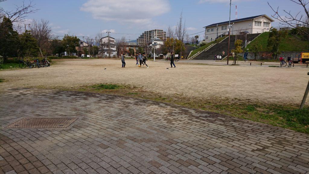清水池公園 多目的広場
