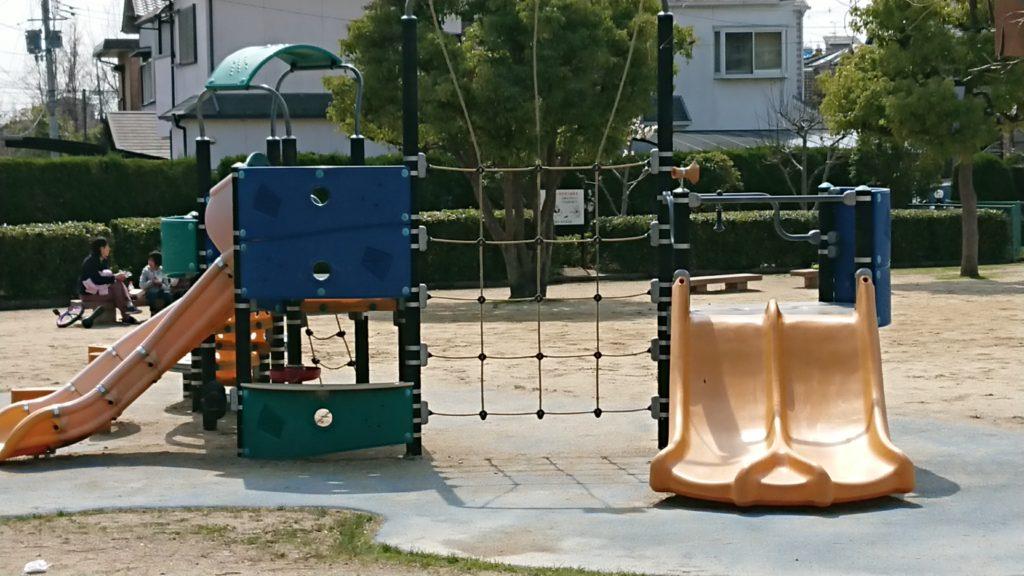 清水池公園 コンビネーション遊具