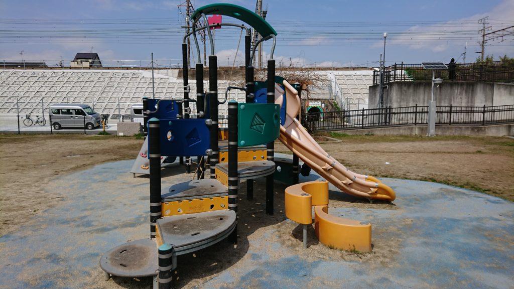 清水池公園 複合遊具