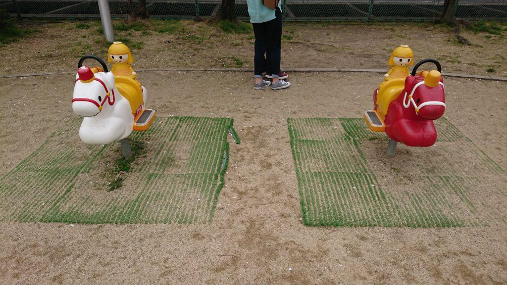 筒井池公園の遊具