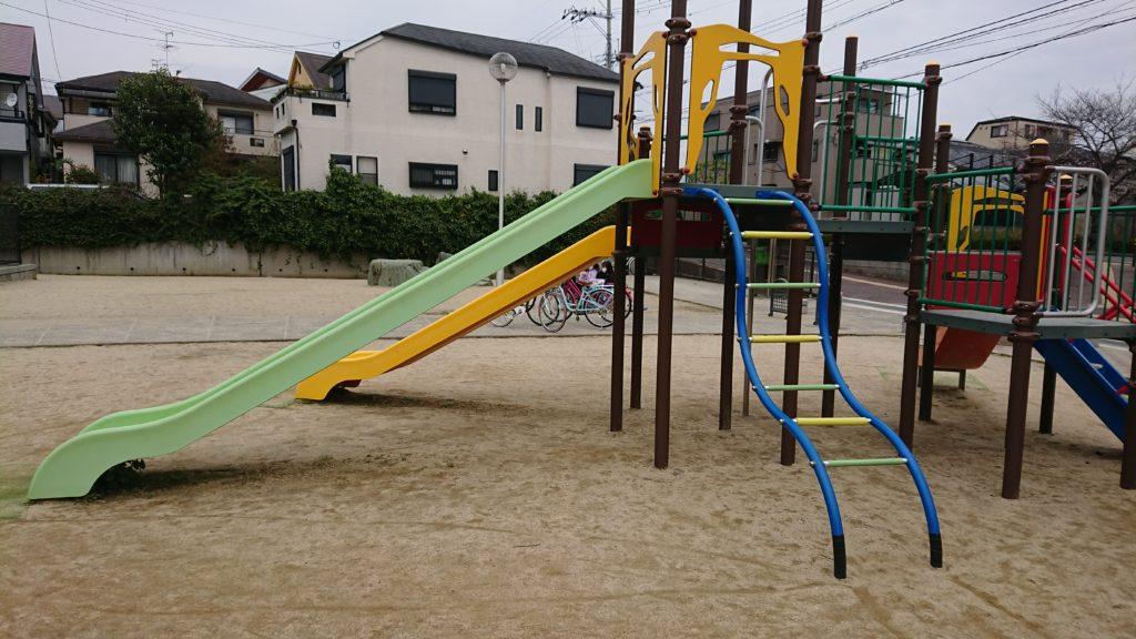 筒井池公園の複合遊具