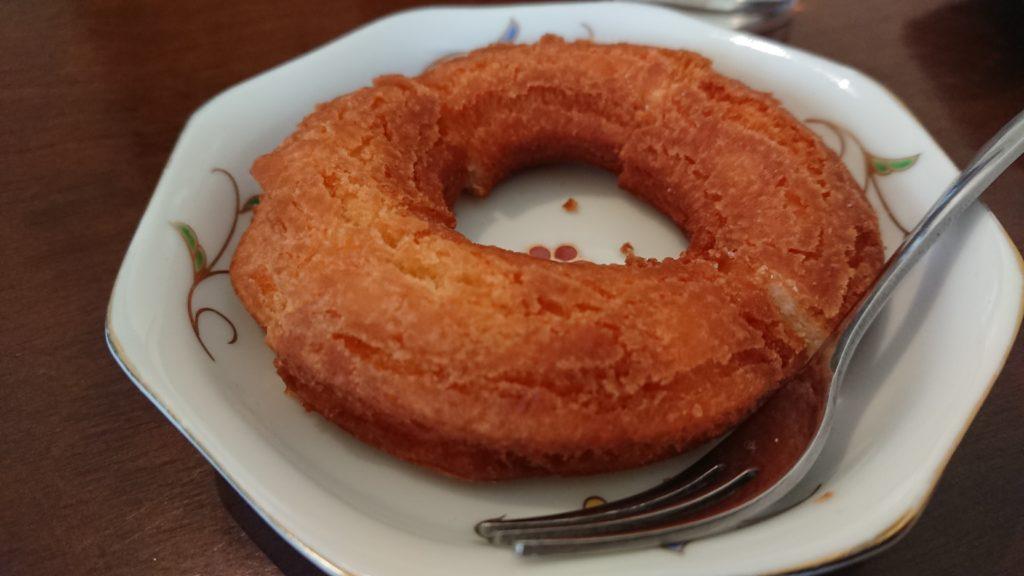 ユゲゲカフェのドーナツ