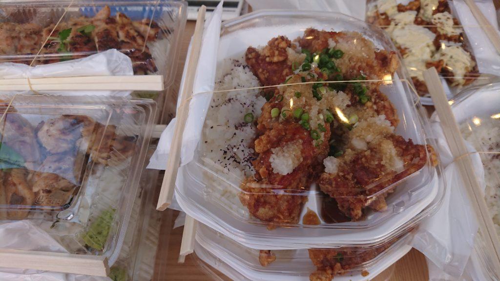 焼き鳥のヒナタ 唐揚げおろしポン酢弁当