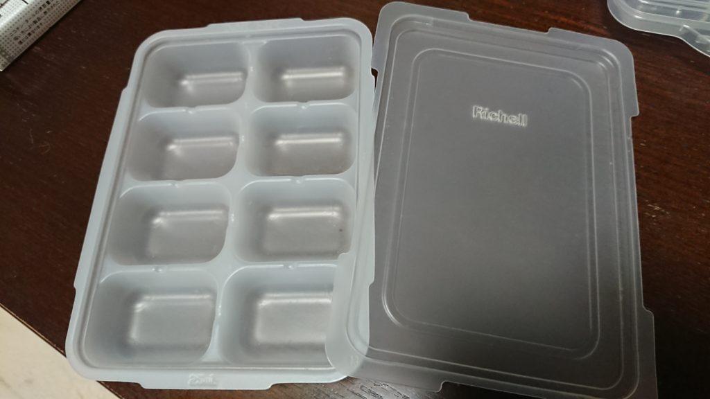 Rachellの離乳食のストック容器