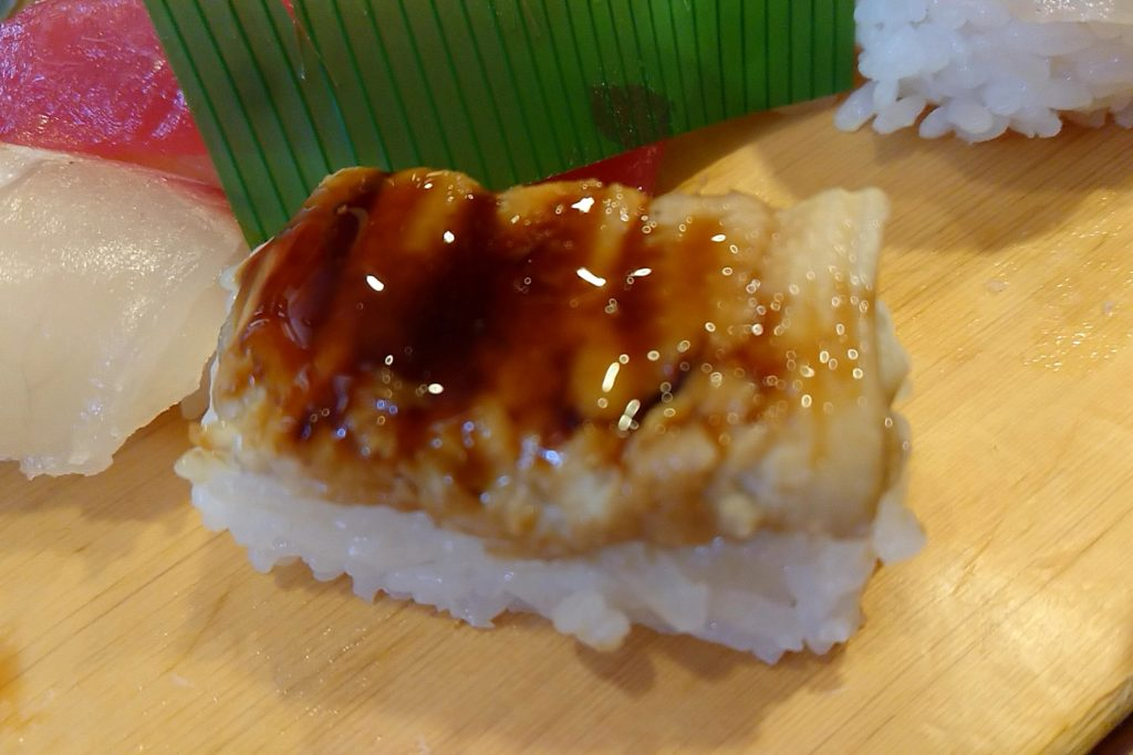 亀八寿司のアナゴ