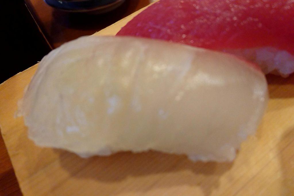 亀八寿司の鯛