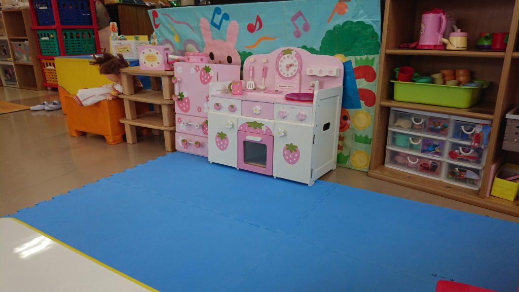 津之江さくら子育て支援センターのキッチンセット