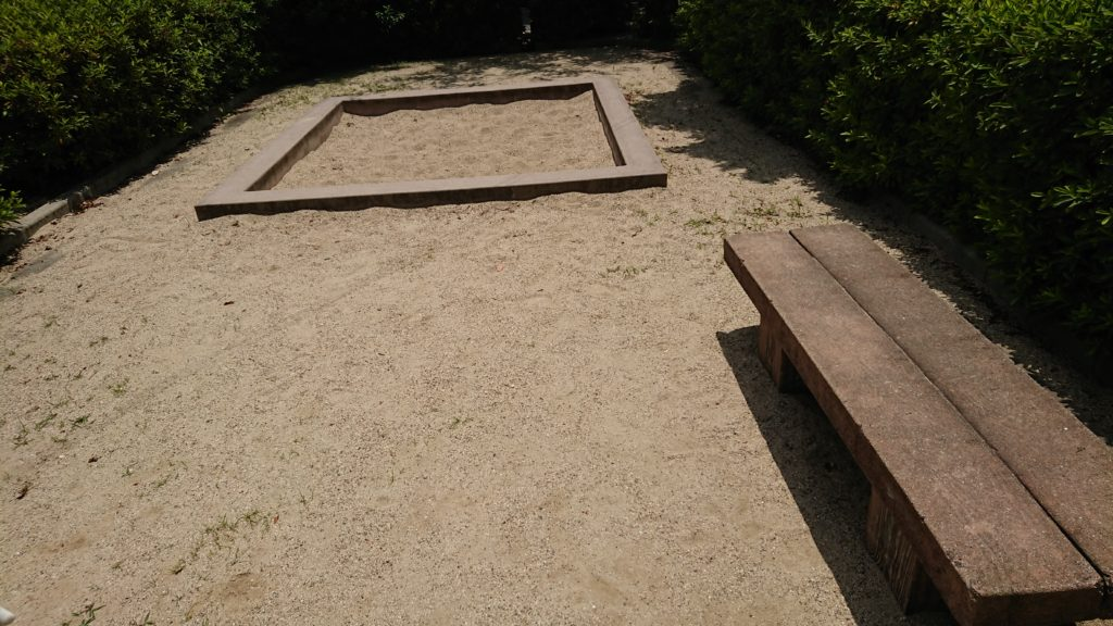 津之江西公園の砂場