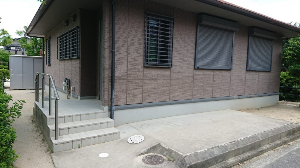 津之江西公園の集会所