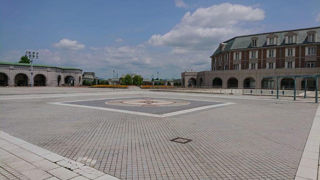 神戸フルーツフラワーパークの広場