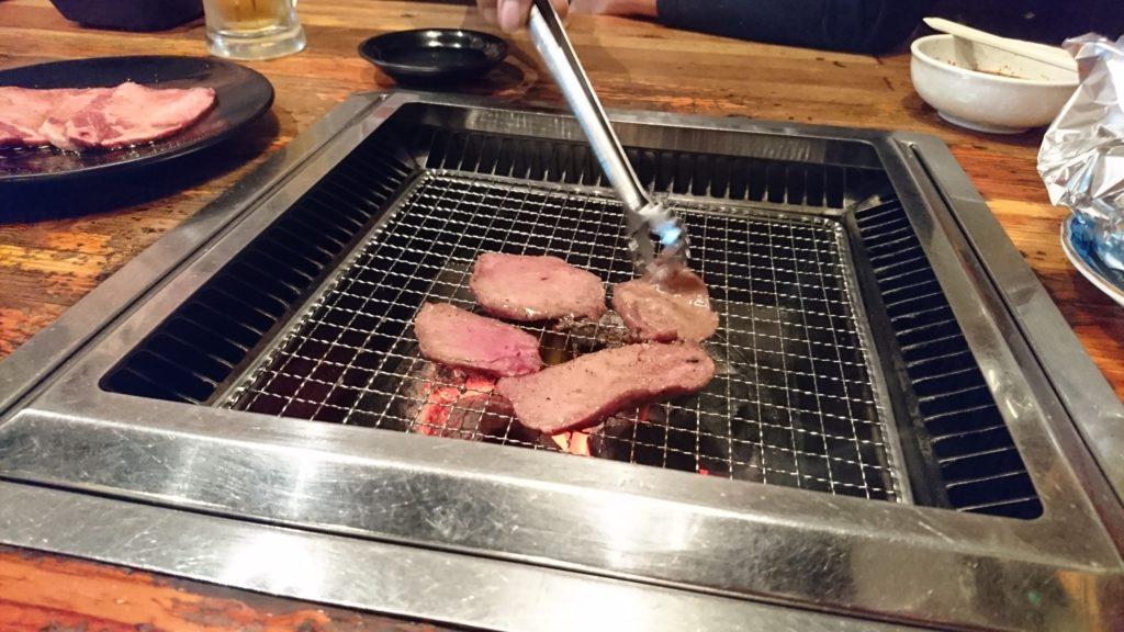 木屋の焼肉