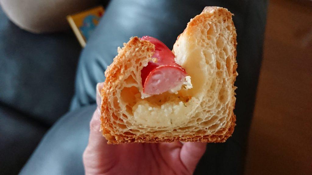クロワッサンのポテトパン