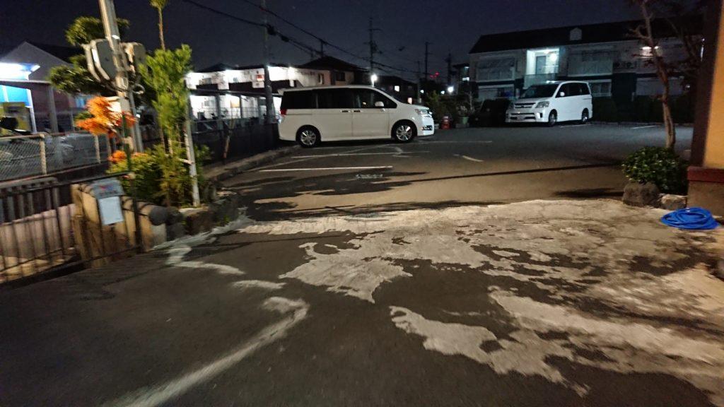 かに八 駐車場