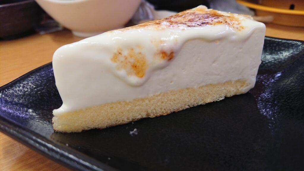 ブリュレアチーズケーキ