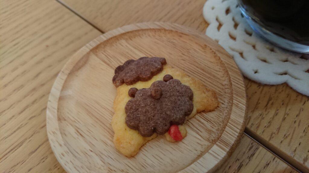 モフズカフェのクッキー